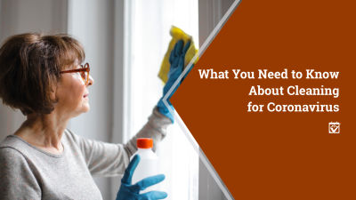 Cleaning Your Home For Coronavirus