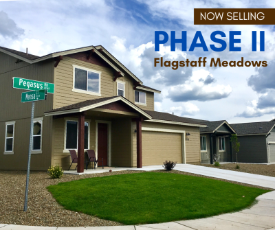 Just Announced: More Homes Available for Sale in Flagstaff Meadows