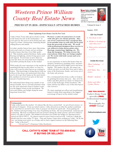 Western Prince William County 2019 Real Estate Annual Review