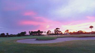 Suntree Country Club Sunset