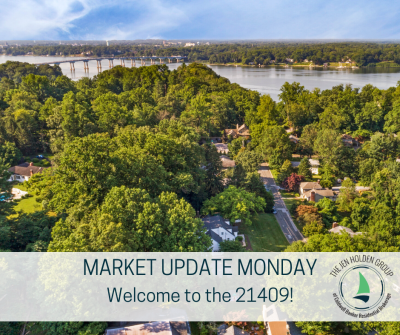 Market Update Monday  – Welcome to the 21409