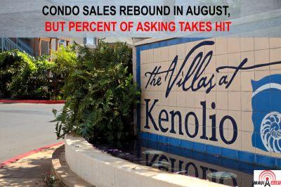 August Condo Sales Come Back