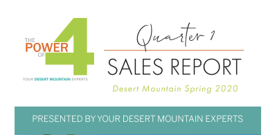 Desert Mountain Q1 2020 Sales Report