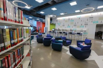 Our Wonderful NEW Library
