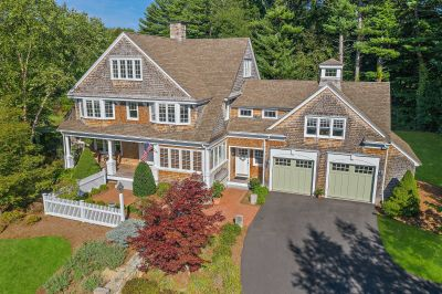 Featured property:  Distinctive Nantucket Shingle style home in Norwell, Ma. 02061