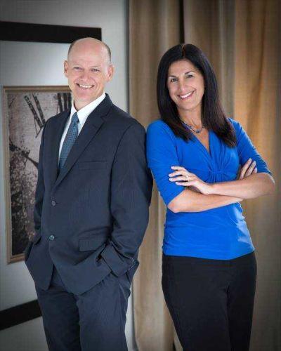 Terry Whitfield & Jacqueline Agius