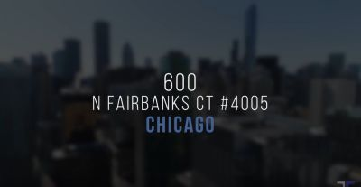 600 North Fairbanks Ct Unit 4005 Video
