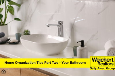 Home Organization Tips Part Two- Your Bathroom