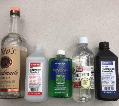 Homemade Hand Sanitizer from Sun Valley Idaho