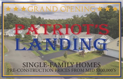 Introducing PATRIOT'S LANDING Uxbridge, MA