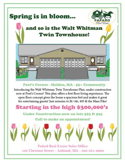 The Walt Whitman Twin Townhouse