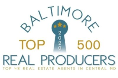 Baltimore Top 500 Real Producers 2020