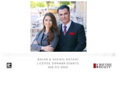Shawn & Bahar Hatami License # 01994689   01169715