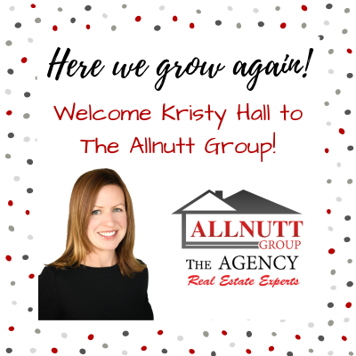 Welcome Kristy Hall to The Allnutt Group!