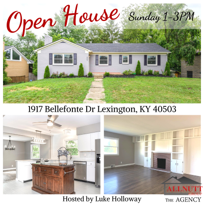 OPEN HOUSE 1917 Bellefonte Dr Lexington, KY 40503