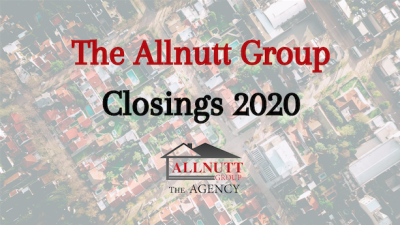 The Allnutt Group 2020 Closings