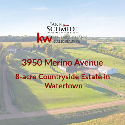 Just Listed: 8-acre Countryside Estate in Watertown