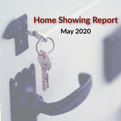 Home Showing Report for May 2020