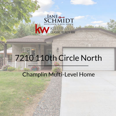 Now Available: Champlin Single-family Home