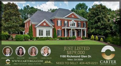 1100 RICHMOND GLEN CIRCLE ALPHARETTA GA 30004 – Home for sale