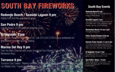 South Bay 4th of July Fireworks 2019