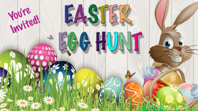 Texas-Sized Easter Egg Hunt – The Charlie Brown Group
