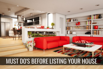 Must Do's Before Listing Your House For Sale