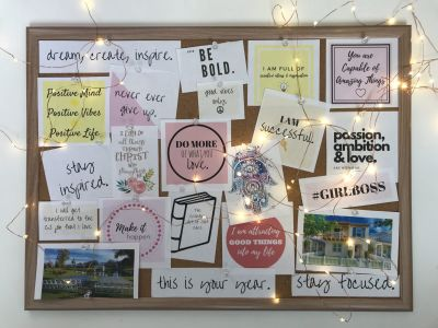 How to Create a Vision Board for 2020!