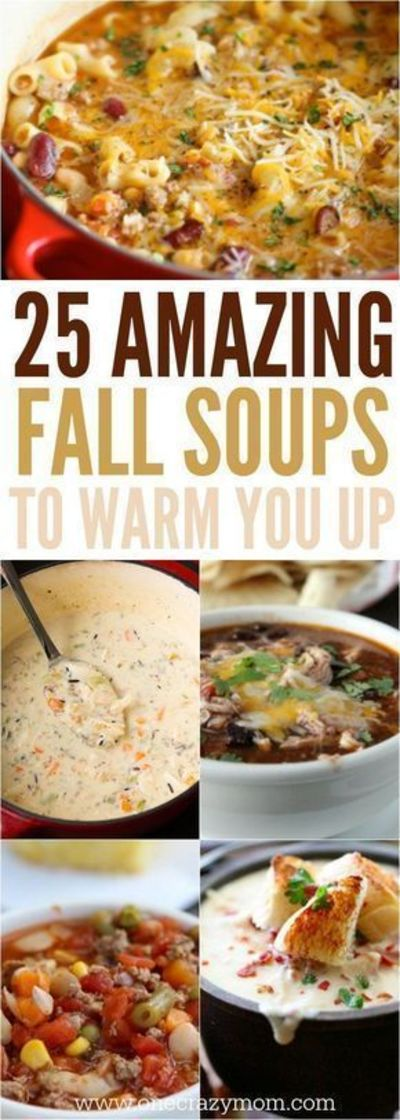 25 Amazing Fall Soups to Warm You Up
