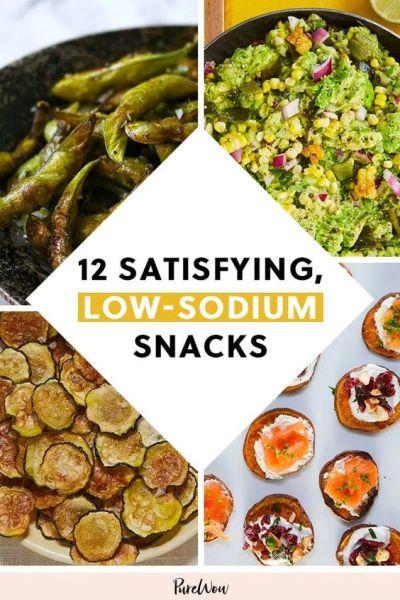 Low Sodium Snack Recipes