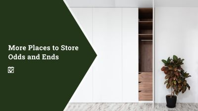 More Places to Store Odds and Ends