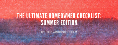 The Summer Homeowner Checklist