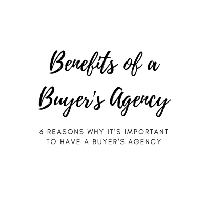 Why A Buyer's Agency Matters