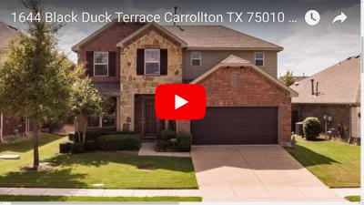 1644 Black Duck Terrace Carrollton, TX 75010 Video Tour