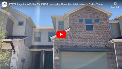 17777 Sage Lane Dallas TX 75252 Video Tour