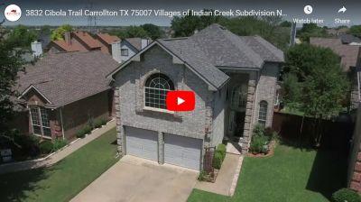 3832 Cibola Trail Carrollton TX 75007 Video Tour