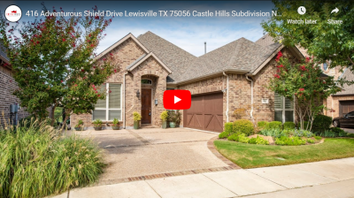 416 Adventurous Shield Drive Lewisville, TX 75056