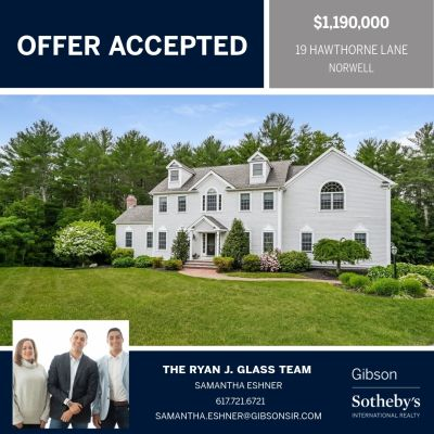 Offer Accepted!! 19 Hawthorne Lane, Norwell