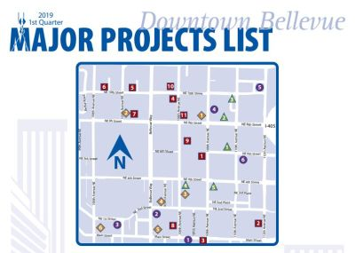 Downtown Bellevue Major Project List