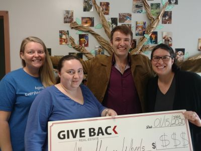 Georgui Kassaev makes a GIVE BACK to the ACCA Meals on Wheels Program.