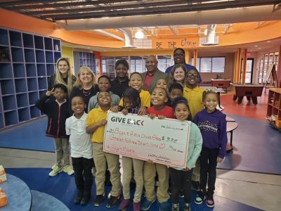 Debbie Grainger made a GIVE BACK to the Boys and Girls Club of Athens
