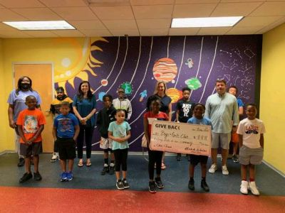 Michelle Watson made a GIVE BACK to the Boys and Girls Club of Athens