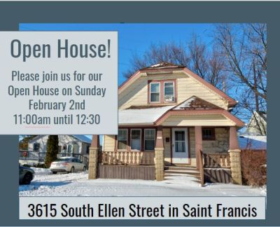 Open Houses Sunday February 2nd