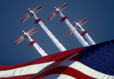 Ft Myers 4th of July WW2 Plane Flyover