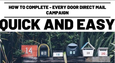 How to Complete-Every Door Direct Mail Campaign