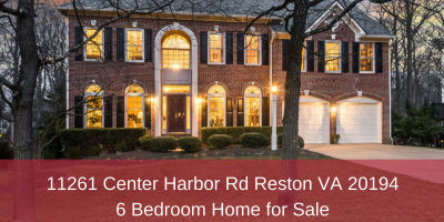 11261 Center Harbor Rd Reston VA 20194 | 6 Bedroom Home for Sale