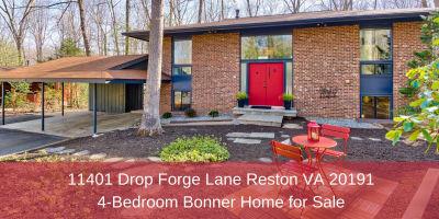 11401 Drop Forge Lane Reston VA 20191 | 4-Bedroom Bonner Home for Sale