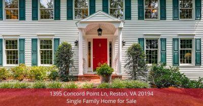1395 Concord Point Ln, Reston, VA 20194 | Single Family Home for Sale