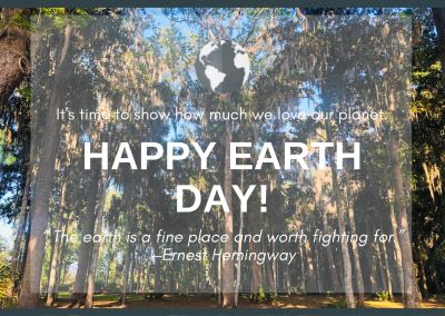 EARTH DAY 2020, GO GREEN!
