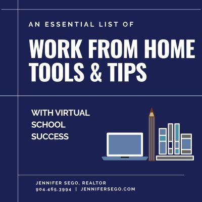 Work & School From Home Success Tips